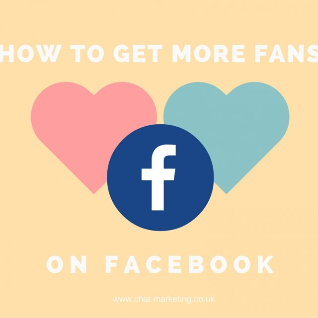 How to get more fans on Facebook